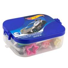 Пластилин Kite Hot Wheels HW19-080 в пластиковом боксе, 7 цветов + 8 инструментов