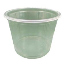 Контейнер одноразовый для пищевых продуктов, полимерный, круглый, 500 мл, 1000 шт/ящ
