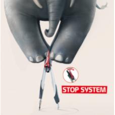 Готовальня STOP SYSTEM 3 предмета, дисплей, ассорти