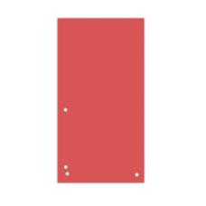 Индекс-разделитель 105х230 мм, 100шт., картон, красный