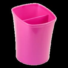Стакан для письменных принадлежностей KVADRIK, розовый, KIDS Line
