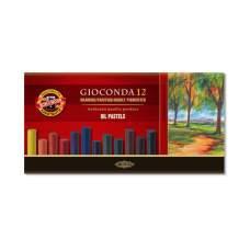 Пастель масляная художественная GIOCONDA, 12 цветов