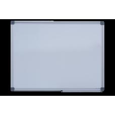 Доска магнитная сухостираемая, JOBMAX, 45х60см, горизонтальная, алюминиевая рамка