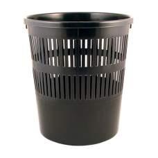 Корзина для бумаги Axent Delta D4007-01, 8 л, черная