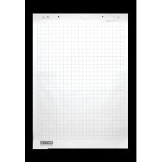 Блок бумаги для флипчартов, 64х90 см, клетка, 10 л, офсет 70 г/м2, карт.коробка