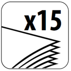 Степлер ESSENTIALS METAL, металлический, 15л., (скобы №10), черный