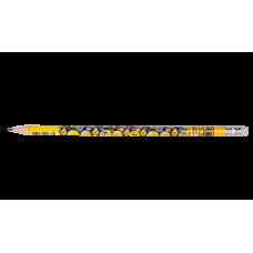 Карандаш графитовый HB с ластиком EMOTIONS , 5шт. в блистере, KIDS Line