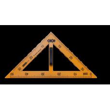 Комплект измерительных приборов TEACHER для школьной доски, 5 предметов, желтый, KIDS Line