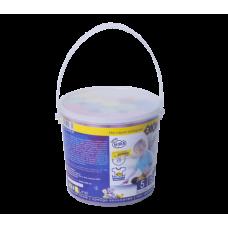 Мел цветной JUMBO, 15 шт в пластиковом ведре, BABY Line