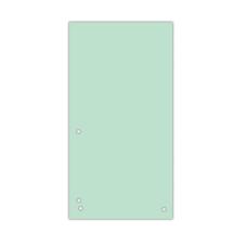 Индекс-разделитель 105х230 мм, 100шт., картон, зеленый