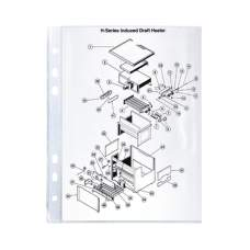 Файл Axent 2005-00-A А5, глянцевый, 40 мкм, 100 штук