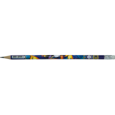 Карандаш графитовый EXOTIC HB, с ластиком, блистер (5шт.), KIDS Line