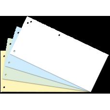 Индекс-разделитель, 10,5х23 см (100 шт.), картон, ассорти