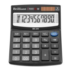 Калькулятор Brilliant BS-210, 10 разрядов