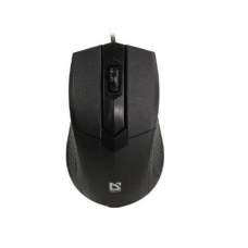 Мышь DEFENDER (52270)Optimum MB-270 USB (чёрная),1000 dpi, 3 кнопки