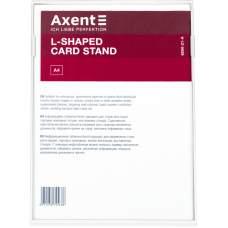 Табличка информационная Axent 6250-21-A, А4, вертикальная, белая