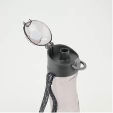 Бутылочка для воды Kite K18-400-03, 530 мл, серая