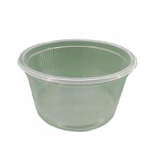 Контейнер одноразовый для пищевых продуктов, полимерный, круглый, 350 мл, 1000 шт/ящ