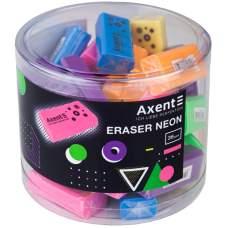 Ластик Axent Neon 1197-A, ассорти цветов