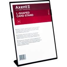 Табличка информационная Axent 6250-01-A, А4, вертикальная, черная