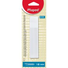 Лезвия для ножей 18мм, 10 шт.