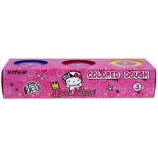 Цветное тесто для лепки Kite Hello Kitty HK21-151, 3*75 г