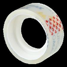 Клейкая лента канцелярская, 18 мм х 10 м, прозрачная, инд.упаковка
