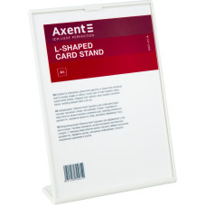 Табличка информационная Axent 6251-21-A, А5, вертикальная, белая