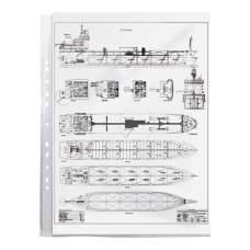 Файл Axent 2003-00-A А3, глянцевый, 40 мкм, 100 штук