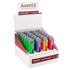 Нож канцелярский Axent 6402-A, лезвие 18 мм, ассортимент цветов