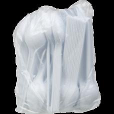 Ложка столовая одноразовая, белая, 2,55 г, 100шт