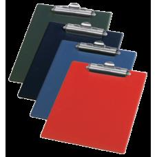Клипборд Panta Plast, А4, PVC, темно-синий
