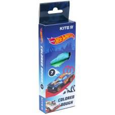 Цветное тесто для лепки Kite Hot Wheels HW21-136, 7*20 г
