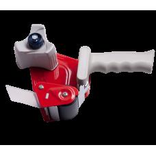 Диспенсер - упаковочный пистолет для клейкой ленты (ширина до 50 мм, втулка 76,2 мм), красный