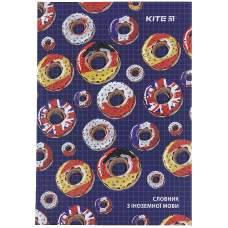Словарь для записи иностранных слов Kite Donuts K21-407-2, 60 листов