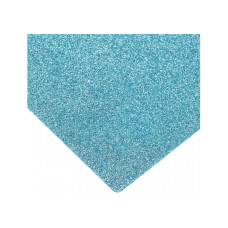 Флизелин с блестками, 20х30 см, 220±10 г/м 2, голубой