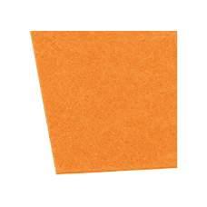 Фетр листовой (полиэстер) на клейкой основе, 20х30см, 180г/м2, оранжевый