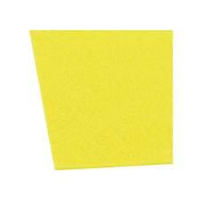 Фетр листовой (полиэстер) на клейкой основе, 20х30см, 180г/м2, лимонный