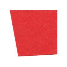 Фетр листовой (полиэстер) на клейкой основе, 20х30см, 180г/м2, красный