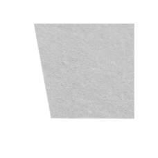 Фетр листовой (полиэстер) на клейкой основе, 20х30см, 180г/м2, белый