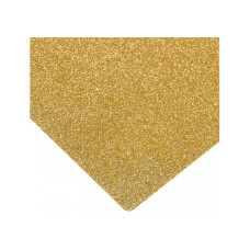 Флизелин с блестками, 20х30 см, 220±10 г/м 2, желтый