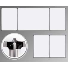 Доска маркерная настенная TM Ukrboards, 100х400 см. С 5 робочими поверхнями