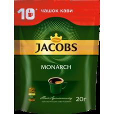 Кава розчинна 20 г, пакет, JACOBS MONARCH