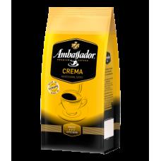 Кофе в зернах Ambassador Crema, пакет 1000г*6