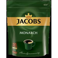 Кава розчинна 60 г, пакет, ТТ JACOBS MONARCH