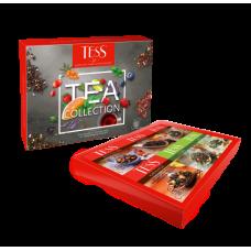 Набор пакетированого чая 60 пакетиков, 6 сортов по 10шт, ассорти, TESS